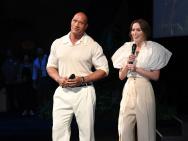《丛林奇航》全球首映 巨石强森、布朗特携手亮相