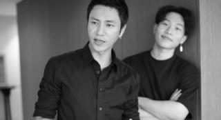 陈坤晒与19岁儿子合照 两人穿黑衣同框温馨有爱