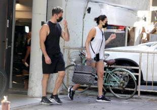 开始新战斗!盖尔·加朵体态恢复 轻装前往健身房