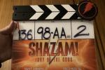 《雷霆沙赞2》正式杀青 大卫·F·桑德伯格晒打板照