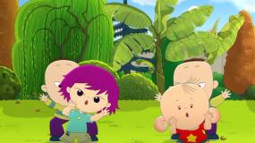 """《大耳朵图图之霸王龙在行动》""""童年回忆""""IP联合短片"""