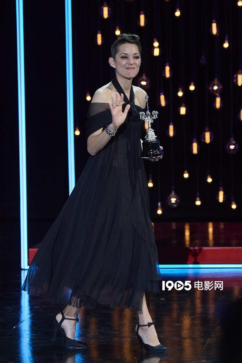 瑪麗昂·歌迪亞獲頒聖塞巴斯蒂安電影節終身成就獎