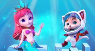《探探猫人鱼公主》开启点映 邀你共赴海底大冒险