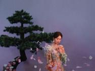 刘诗诗新写真化身花仙子 白纱遮面超凡脱俗美如画