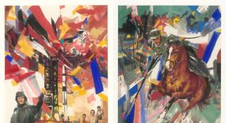 《我和我的父辈》曝手绘版海报 再现时代青春画卷