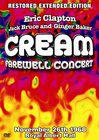 Cream's Farewell Concert